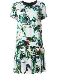 платье шифт с цветочным принтом Proenza Schouler