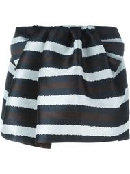 полосатая мини-юбка  Nº21