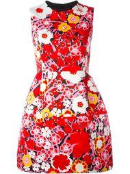 платье А-силуэта с цветочным принтом Victoria Victoria Beckham