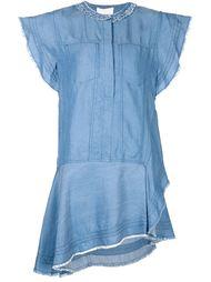 асимметричное платье из шамбре 3.1 Phillip Lim