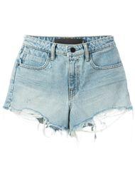 джинсовые шорты  Alexander Wang