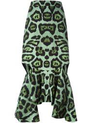 облегающая юбка с баской Givenchy