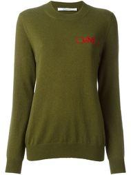 свитер с вышивкой 'Love' Givenchy
