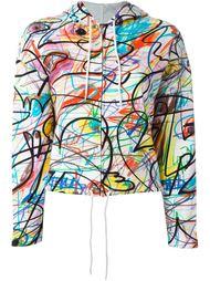толстовка с абстрактным принтом Jeremy Scott