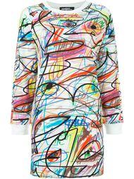 платье-толстовка с графическим принтом Jeremy Scott