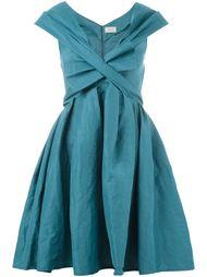 платье с глубоким V-образным вырезом Lanvin