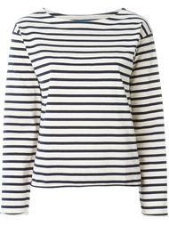 полосатая футболка с длинными рукавами Mih Jeans