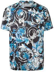 рубашка с принтом Барокко Versace