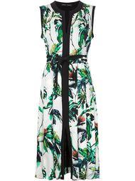 плиссированное платье шифт  Proenza Schouler