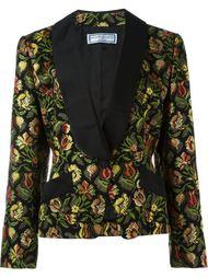 жаккардовый пиджак  Yves Saint Laurent Vintage