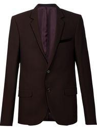 пиджак с контрастной бархатной окантовкой Lanvin