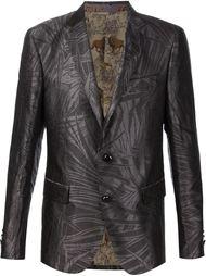 жаккардовый пиджак с цветочным принтом Etro