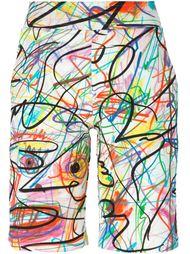шорты с принтом Jeremy Scott