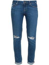 джинсы скинни 'Quinley' с рваными деталями Paige