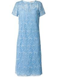 гипюровое платье с короткими рукавами Nina Ricci