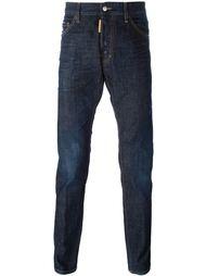 джинсы прямого кроя Dsquared2