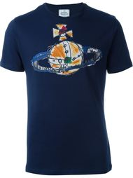 футболка с принтом Orbit Vivienne Westwood Man