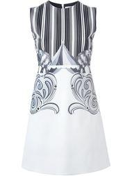 короткое платье А-образного кроя Victoria Victoria Beckham