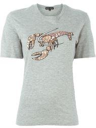 футболка 'Embelish Lobster' Markus Lupfer