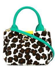 мини сумка-тоут с леопардовым принтом   Muveil