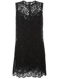платье с цветочным кружевом Dolce & Gabbana