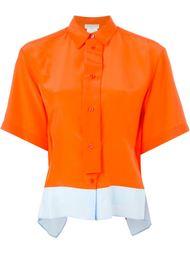 рубашка асимметричного кроя Emilio Pucci