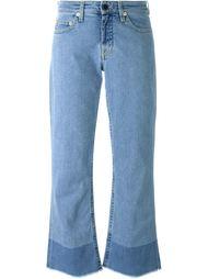 укороченные расклешенные джинсы  Victoria Victoria Beckham