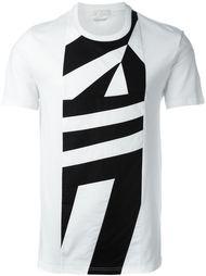 футболка с геометрическим принтом Alexander McQueen