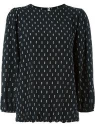 блузка с принтом Société Anonyme