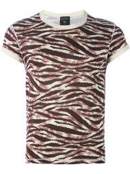 футболка с тигровым принтом Jean Paul Gaultier Vintage