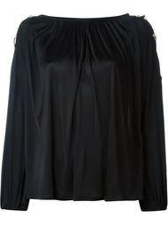 блузка со шнуровкой Versace Collection