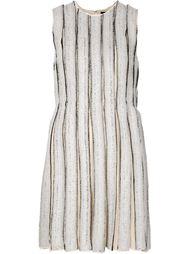 платье шифт в полоску  Proenza Schouler