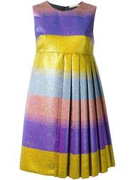 плиссированное платье с отблеском Marco De Vincenzo