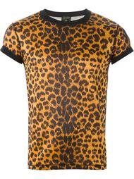 футболка с леопардовым принтом  Jean Paul Gaultier Vintage