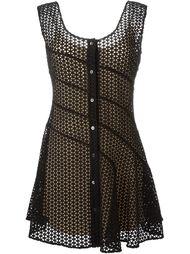 кружевное платье на пуговицах  Sonia Rykiel