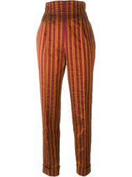 брюки с завышенной посадкой  Romeo Gigli Vintage