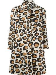 пальто с леопардовым принтом Marc By Marc Jacobs