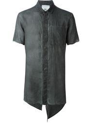 асимметричная рубашка с потертой отделкой Lost & Found Rooms