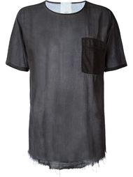 прозрачная футболка с нагрудным карманом Lost & Found Rooms