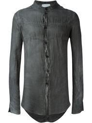 прозрачная рубашка с мятым эффектом Lost & Found Rooms