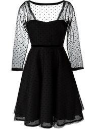 расклешенное платье с вышивкой Marc By Marc Jacobs
