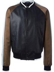 куртка-бомбер с панельным дизайном  Lanvin