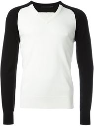 свитер c V-образным вырезом  Alexander McQueen