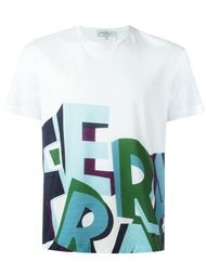 футболка с принтом Ferragamo  Salvatore Ferragamo