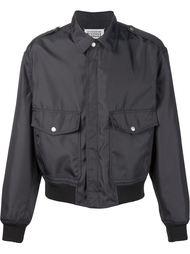 куртка-бомбер с накладными карманами Maison Margiela