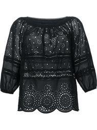 ажурная блузка свободного кроя Marc By Marc Jacobs