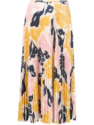 юбка с цветочным принтом   Cédric Charlier
