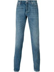 джинсы кроя слим  Brunello Cucinelli