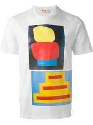 футболка с принтом Marni
