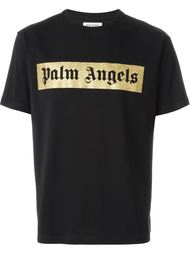 футболка с принтом логотипа  Palm Angels